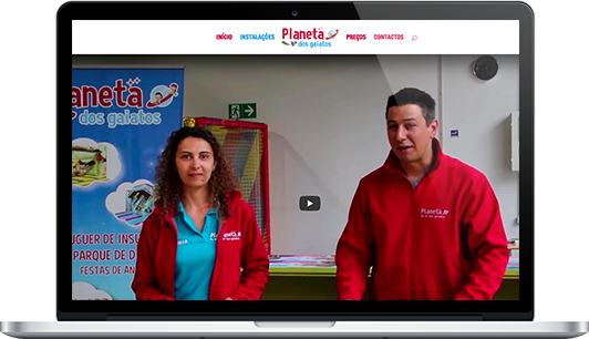 Website – Planeta dos Gaiatos