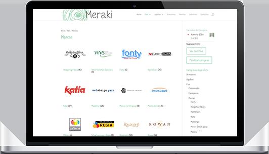 Website – Loja Meraki