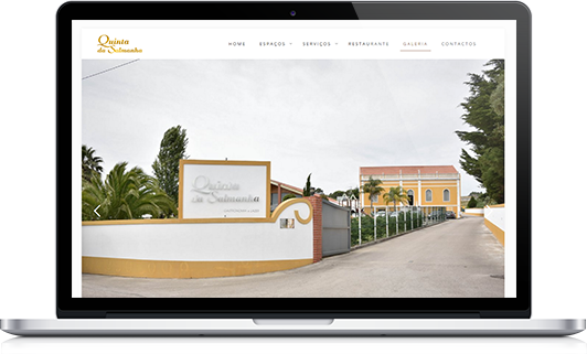 Website – Quinta da Salmanha