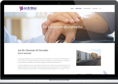 Website – Lar Clemente de Carvalho