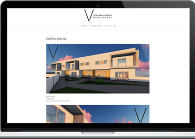 Website – Vera Brás Simões' Arquitectos