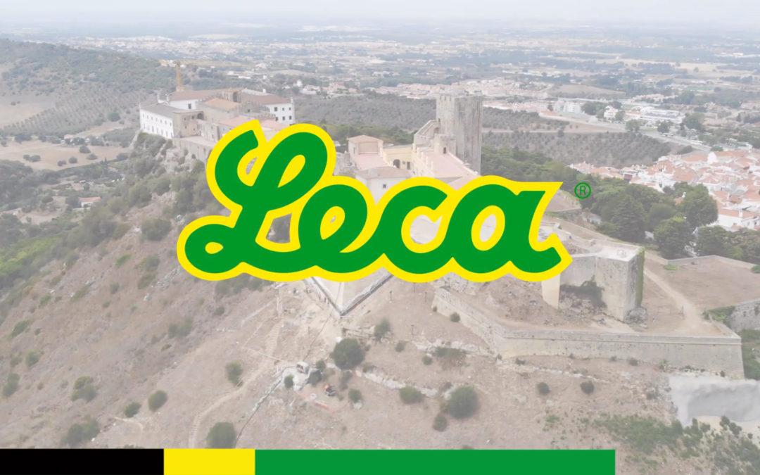 Bombagem de Geo Leca® no Castelo de Palmela – Leca Portugal